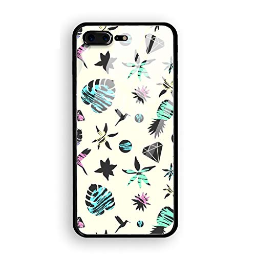 Colorful Leaves Phone 8 Plus Case Ultra-Thin Anti-Scratch Shock Proof Dust Proof Anti-Finger Print PC Case