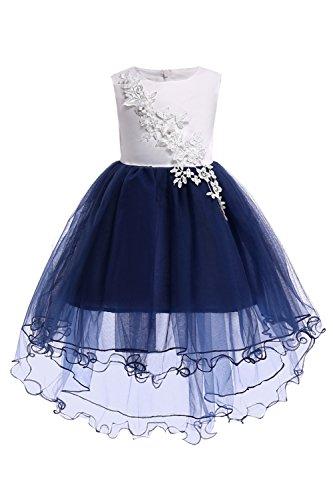 Girls Kids Wedding Party Darling Flower Dress First Communion Dress