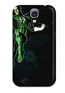 Cute Tpu CaseyKBrown Green Lantern Case Cover For Galaxy S4