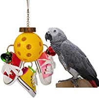 Keersi Juguete para Masticar para pájaros, Mini Zapatos Deportivos ...