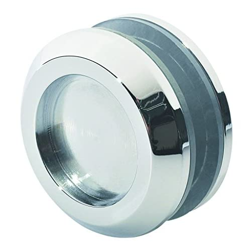 Rockwell Sliding Shower Door Finger Pull Knob in Polished Chrome Finish, Durable commercial & residential, door hardware, door handles, locks well-wreapped