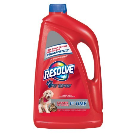 Resolve 2x Concentrated Pet Expert Deep Cleans Stains and...