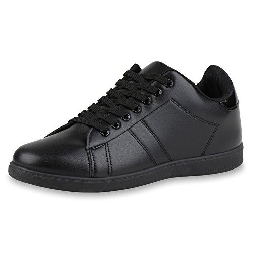 Chaussures Damen-vie Espadrille Strass Faible Glitzer Schwarz Manquent