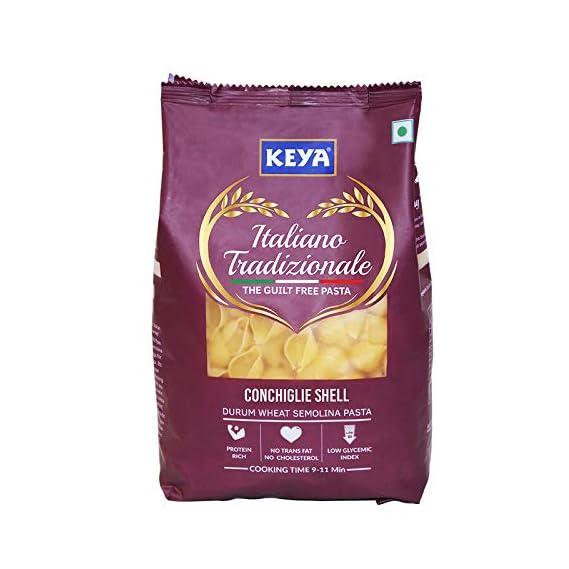 Keya Gourmet Conchiglie Shell Durum Wheat Pasta, 500g
