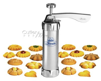 Harold Import 8307 Deluxe Biscuit Maker - Stainless Steel
