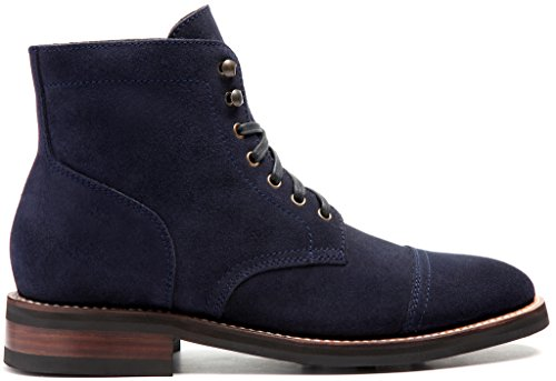 Thursday Boot Company Captain Mens 6 Lace-up Boot Midnight Suede gzJGHiU8