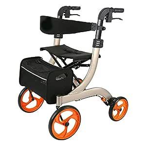 Andadores para discapacidad Caminante y Maleta con Ruedas de 4 ...