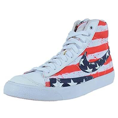 Amazon.com | Nike Blazer mid 77 PRM VNTG Mens hi top