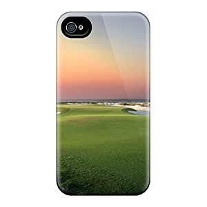 Mjdavis Design High Quality Sunset Golf Cover Case With Excellent Style For Iphone 4/4s