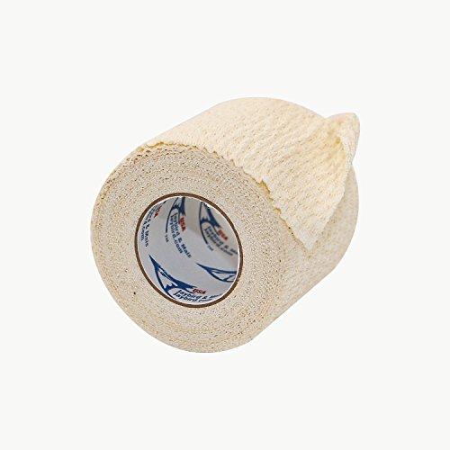 Jaybird & Mais 4500-2050 4500 Jaylastic Lightweight Athletic Stretch Tape: 2' x 15 ft, White