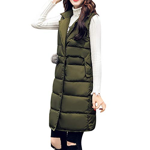 Quilted Cotton Jacket Coat Winter Army Classic Cardigan Outerwear Overcoat Slim vpass Vest Thicker Fit Women Green Parka Warm Padded Trench Fleece 40BABq