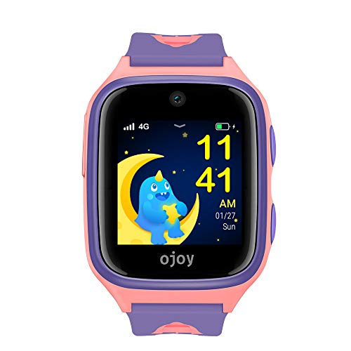 OJOY A1 Kids Smart Watch | Waterproof Smart Watch for Kids | 4G LTE Watches for Boys and Girls | Safety Gizmo Watch for Kids | Kids GPS Watch & - Cell Gps