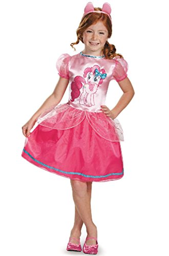 [8eighteen My Little Pony's Pinkie Pie Classic Dress Child Costume] (My Little Pony Costume For Dogs)