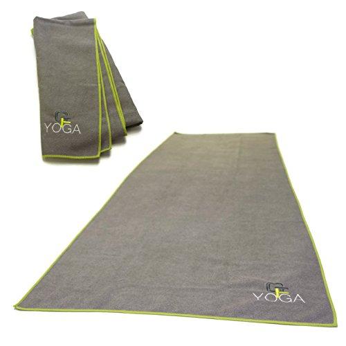 Gradient Fitness Yoga Towel for Yoga Mat, Non-slip, Microfiber, Absorbent (24 x 72 inches) – DiZiSports Store