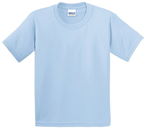 Irish Girl Light T-shirt - Gildan boys Ultra Cotton T-Shirt(G200B)-LIGHT BLUE-XS