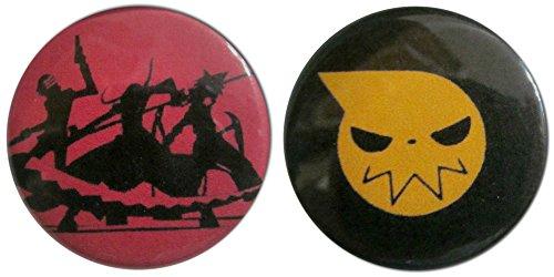Soul Eater 1.25 Inch Magnet Set (Best Demon Souls Weapons)