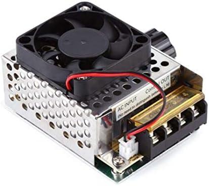 Peanutaoc 4000W AC 220V Regulador de Voltaje Motor Controlador de ...
