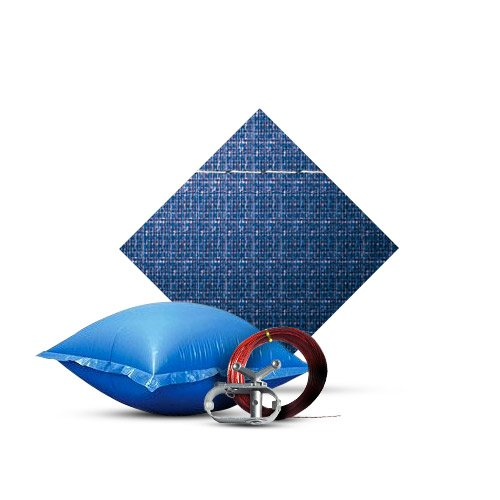 Standard 15' Round Winter Cover Kit, Includes Air Pillow, 10 Year Warranty