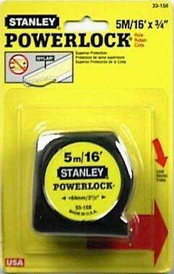 Stanley 33-158 5m/16 x 3/4-Inch PowerLock Tape Rule