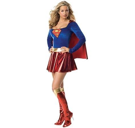 NUEVO Disfraz Para Mujer Super Girl, talla XS: Amazon.es: Juguetes ...
