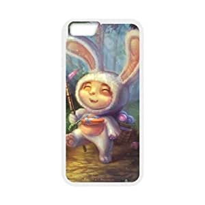 iPhone 6 4.7 Inch Cell Phone Case White League of Legends Cottontail Teemo GYV9414565