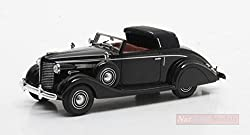 MATRIX MX50206-061 BUICK SERIES 40 LANCEFIELD DROP HEAD 1938 BLACK 1:43 DIE CAST from New