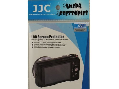 Polycarbonate Lcd - JJC PCK-LM3AM Professional 0.5mm Polycarbonate LCD Cover for Sony A77 , A77V Screen Protector PCK-LM14 (Clear)