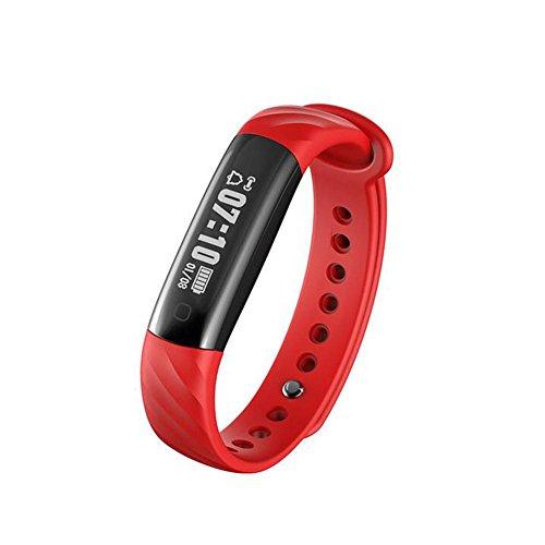 Hmhope Sports Bracelet Smart PodomèTre Tracker Fitness Dormir Moniteur SéDentaire Rappel Pour IOS Et Android
