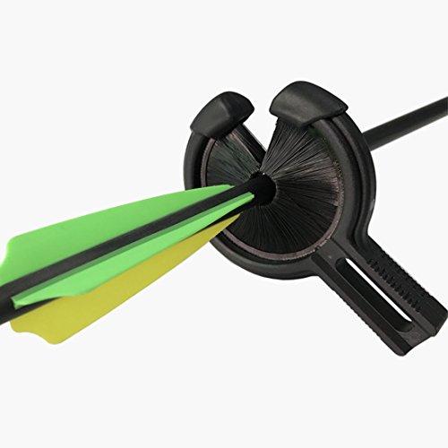Tiro al arco Sustitución de reposo de flecha Capturar Accesorios de arco compuesto: Amazon.es: Deportes y aire libre