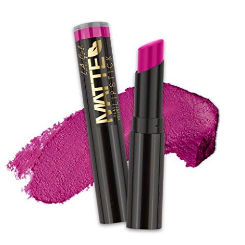Matte Lipstick Mica - (6 Pack) L.A. GIRL Matte Flat Velvet Lipstick - Manic