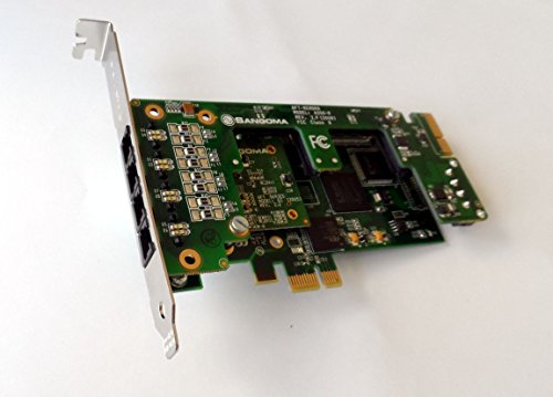 - Sangoma A20500DE 10 FXS analog card w/ EC HW - PCIe