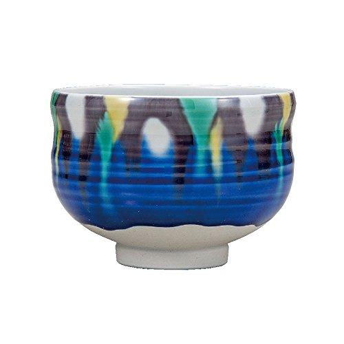 Japanese Matcha Bowl Yusai Kutani Yaki(ware) by Kutani