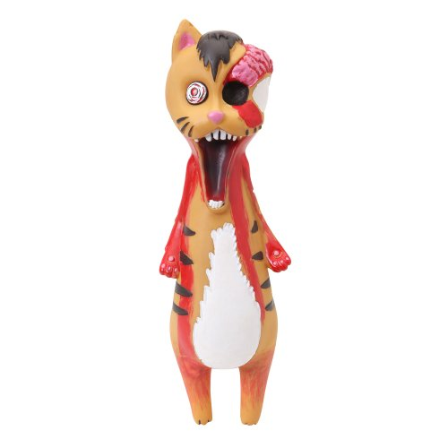 Dogit Vinyl Dog Toy, Zombie (Halloween Caricatures)