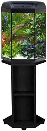 Hexa Juego 60 Acuario Hexagonal 60 L Luz LED accesorios mesa agua ...