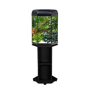 Hexa Juego 60 Acuario Hexagonal 60 L Luz LED accesorios mesa agua dulce AquaEL: Amazon.es: Productos para mascotas