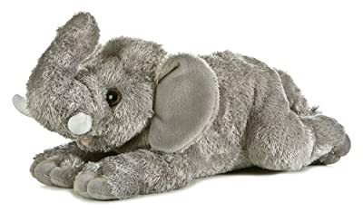 Aurora Plush 12 Flopsie Asian Elephant from Aurora Plush
