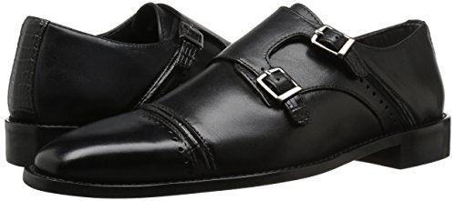 Stacy Adams Men's Rycroft Cap Toe Double Monk Strap Oxford, Black, 9 M US by Stacy Adams (Image #6)