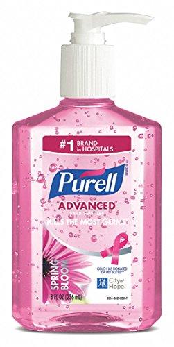 (Purell 8 oz. Hand Sanitizer Pump Bottle, None, 1 EA 8 oz. 3014-12 - 1)