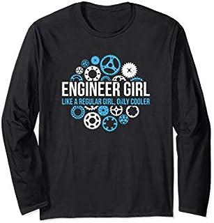 ⭐️⭐️⭐️ Engineer Girl - Engineer Gifts - Feminist Strong Women Need Funny Short/Long Sleeve Shirt/Hoodie