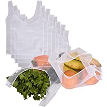 CWC Reusable Recycled Mesh Grocery & Produce Bag 8 Bag Set