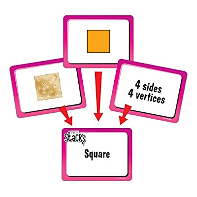 EAI Education Math Stacks Geometry Game: Grades 1-2: Toys & Games