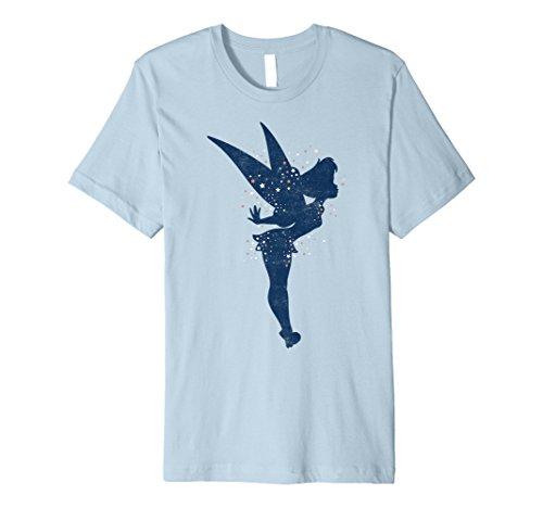 Disney Peter Pan Tinkerbell Americana Shadow Premium T-Shirt ()