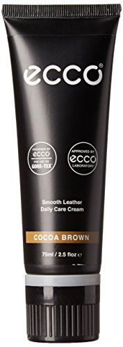 ECCO Men's Shoe Care Leather Cream, Cocoa, 42 EU/8 M US