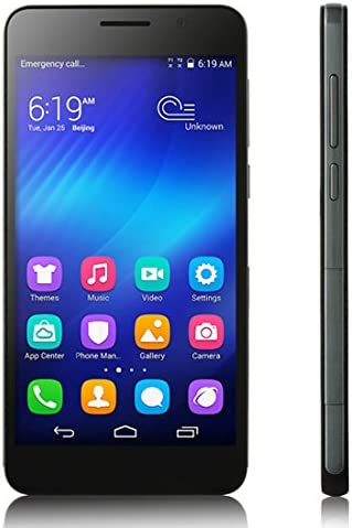 HUAWEI Honor 6 Smartphone 4G LTE Hisilicon Octa Core 3 GB 16 GB 5,0 pulgadas FHD Screen Negro: Amazon.es: Electrónica