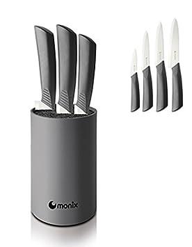Monix - Taco Cuchillos ceramicos 4p.: Amazon.es: Electrónica