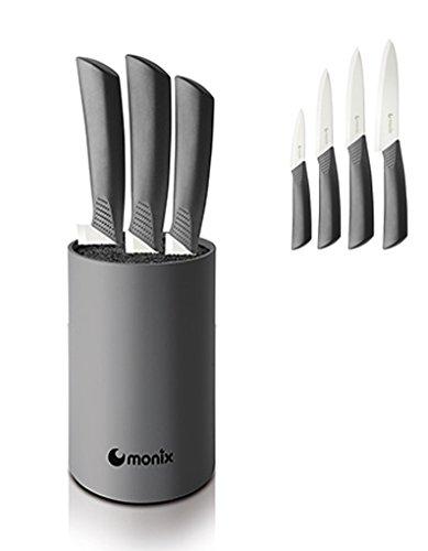 Monix - Taco cuchillos ceramicos 4p.: Amazon.es: Hogar