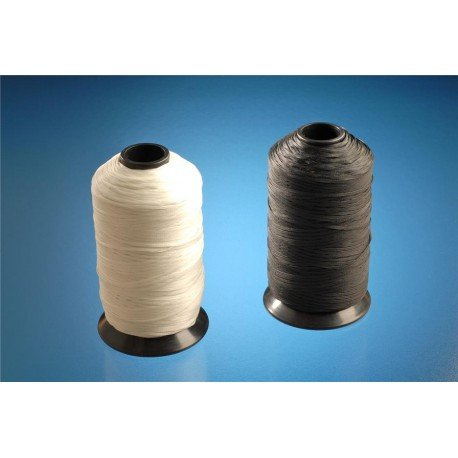 NYL WHT 457M ALPHA WIRE LC134 WH088 LACING CORD 1.52MM W 0.3MM THK