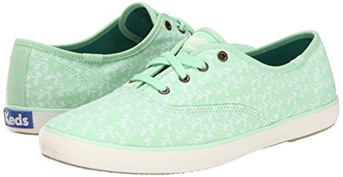bdcb2e0f8ee0b Keds Women s Champion Botanical-Leaves Fashion Sneaker - Import ...