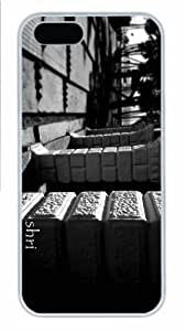 iPhone 5S Case - Customized Unique Design Look New Fashion PC White Hard