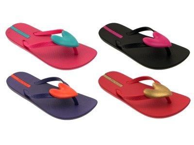 7bf18ce0d0733b Ipanema GIRLS KIDS CHILDRENS HEART SANDALS EVA FLIP FLOPS TOE POSTS SHOES  JUNIOR SIZES 8-2  Amazon.co.uk  Shoes   Bags